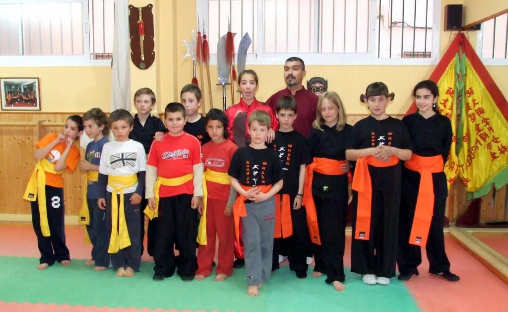 Kungfu para niños en Granada